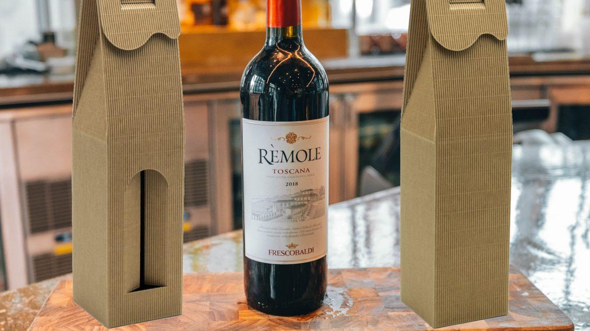 wino na prezent firmowy