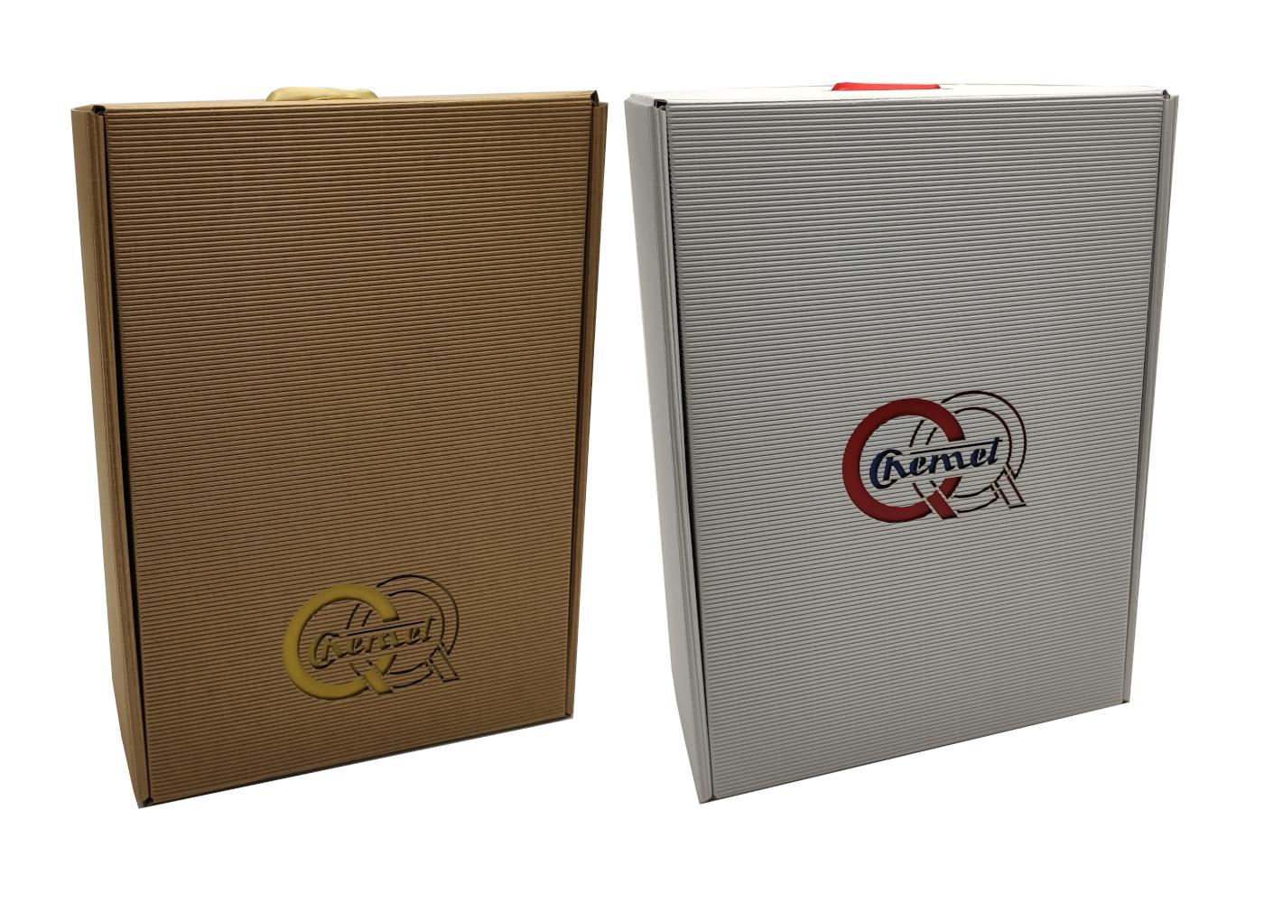 pudełko prezentowe eco białe